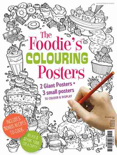 The Foodie's Colouring Posters