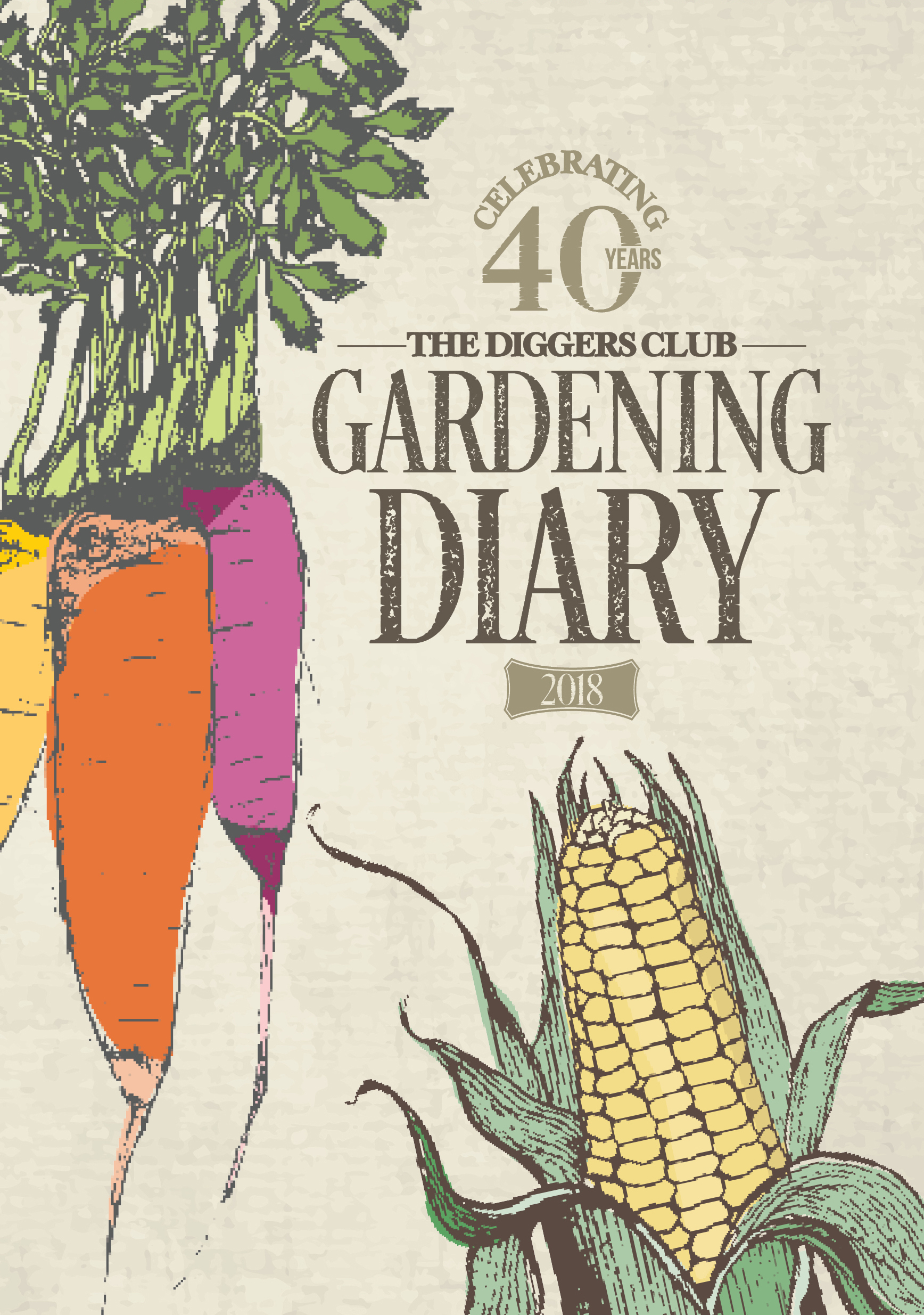 The diggers club gardening diary 2018 newsouth books for Garden club book by blackbird designs