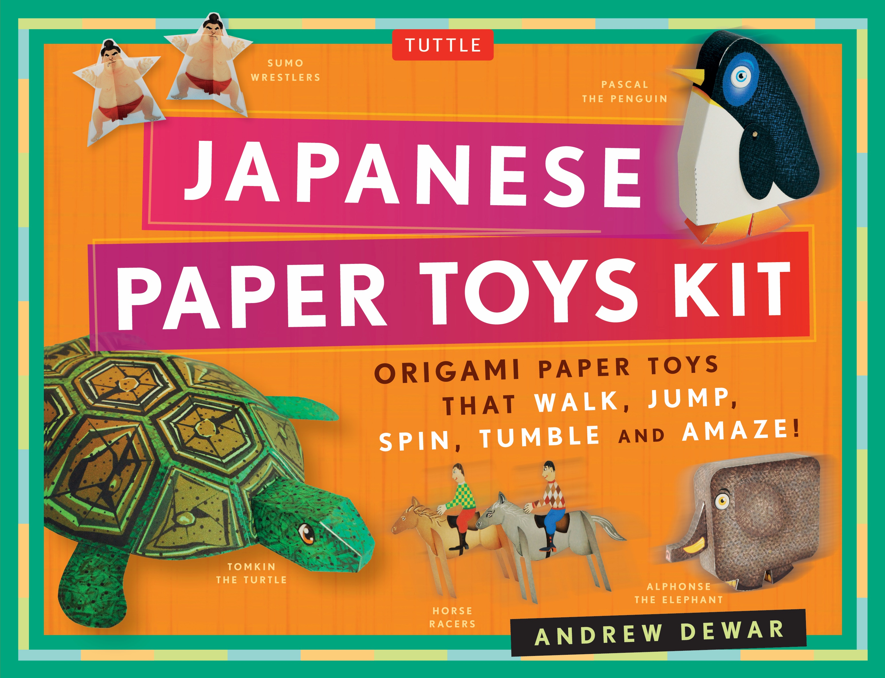 Imagine If Paper Toys Could Come Alive Thats Exactly What Happens With This Fascinating Collection Of Figures That Walk Jump Fly And Spin