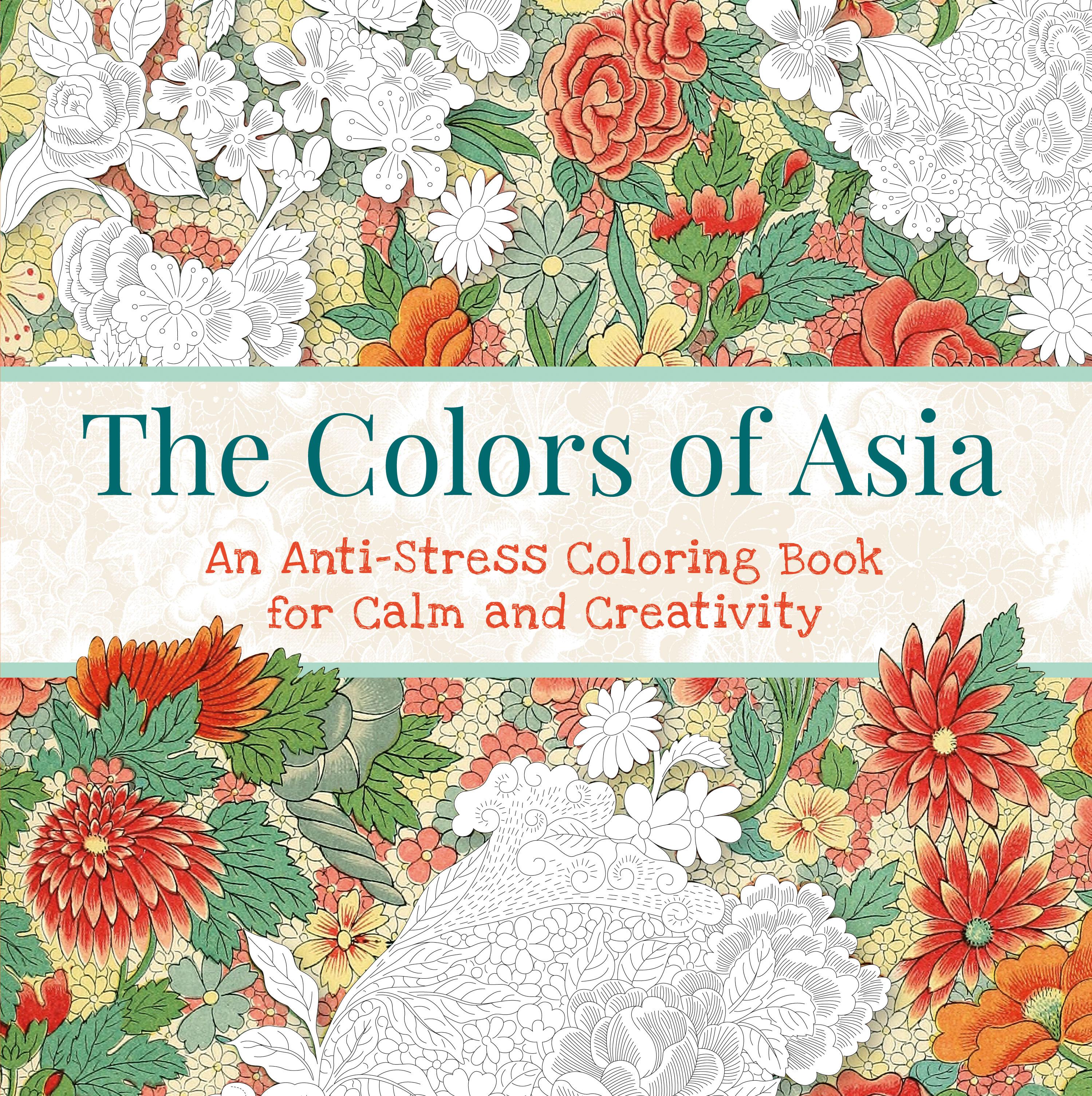 Creative anti stress colouring book - Full Size Image