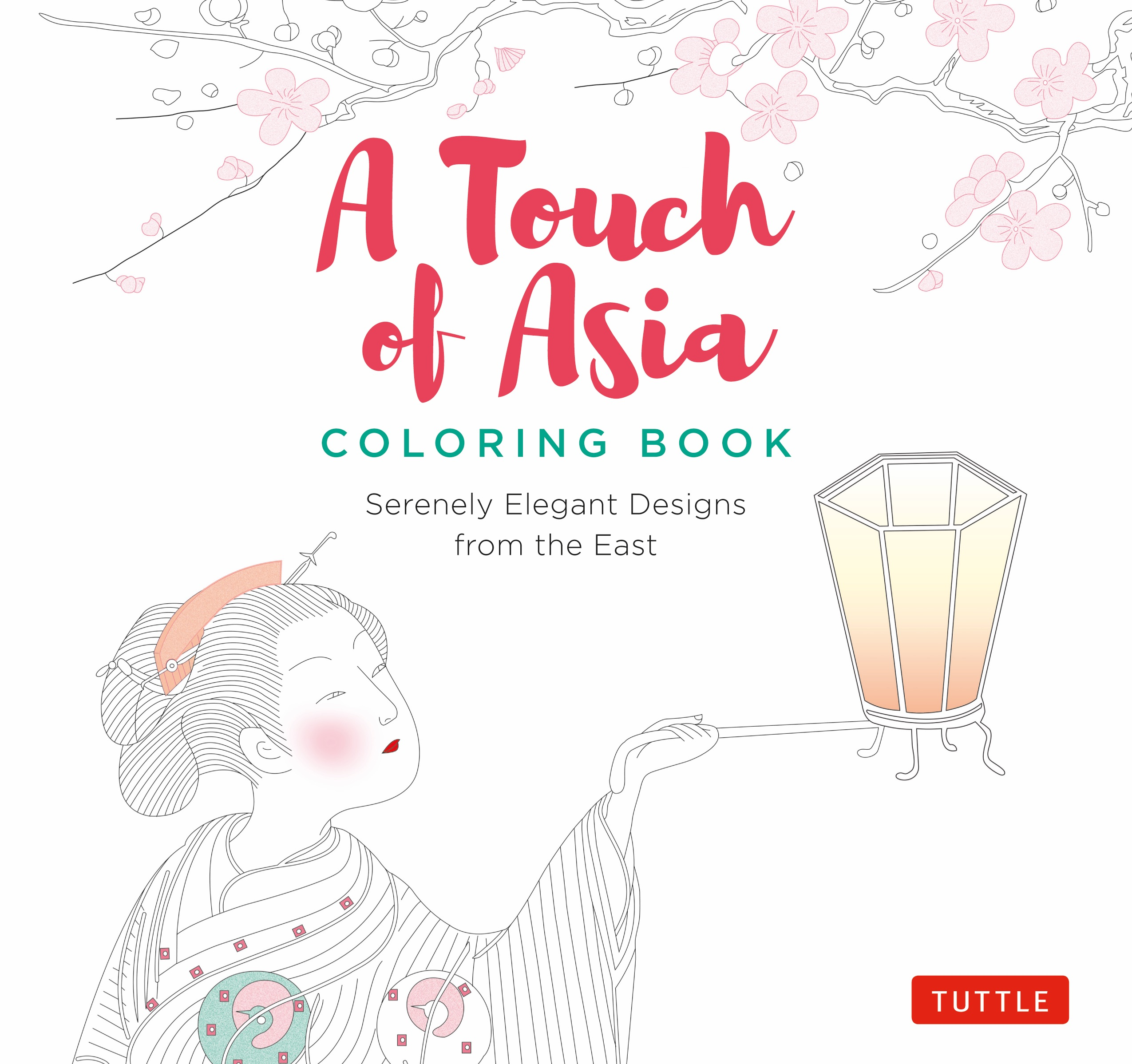 Book Cover Design From East Asia ~ A touch of asia coloring book newsouth books