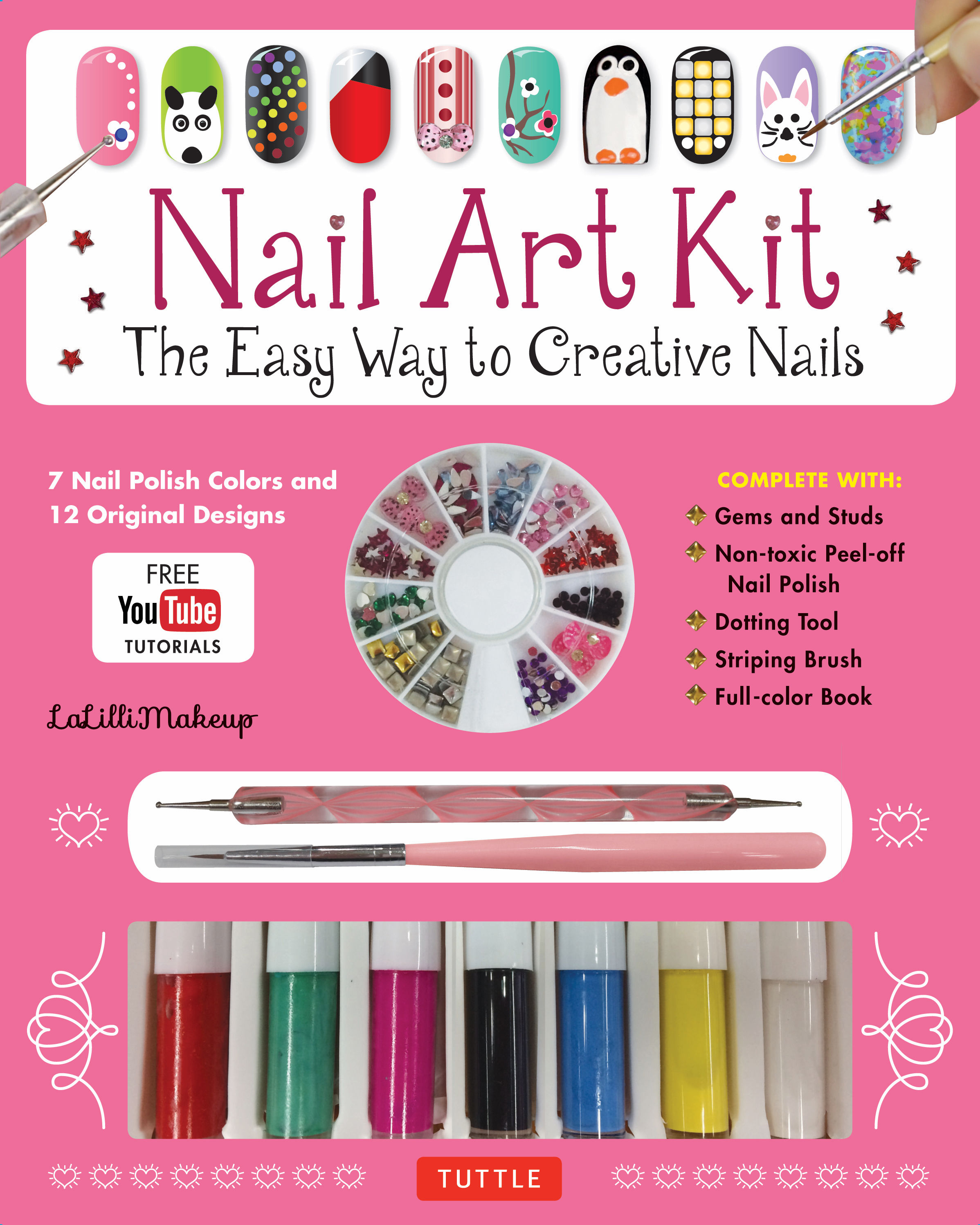 Nail Art Kit Newsouth Books