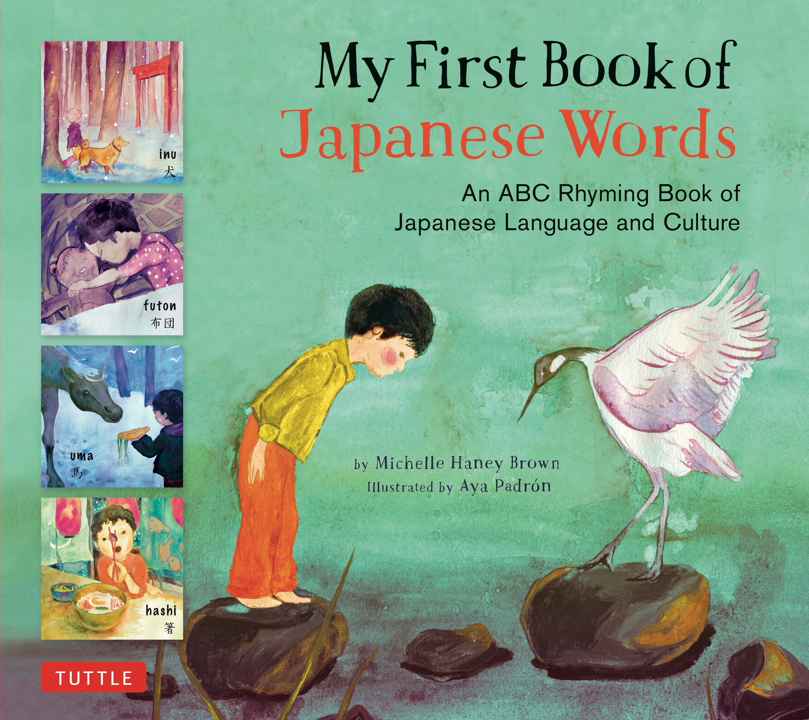 My First Book of Japanese Words is a beautifully illustrated book that  introduces young children to Japanese language and culture through everyday  words.