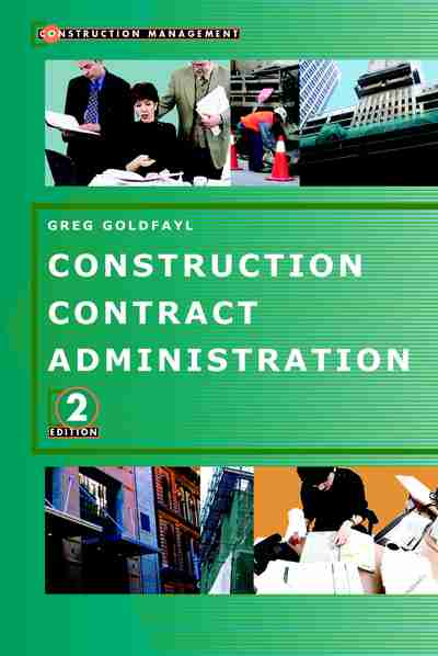 construction contract administration books pdf