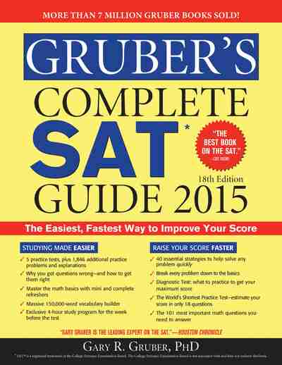 Gruber's Complete New SAT Guide 2018 (Gruber's Complete ...