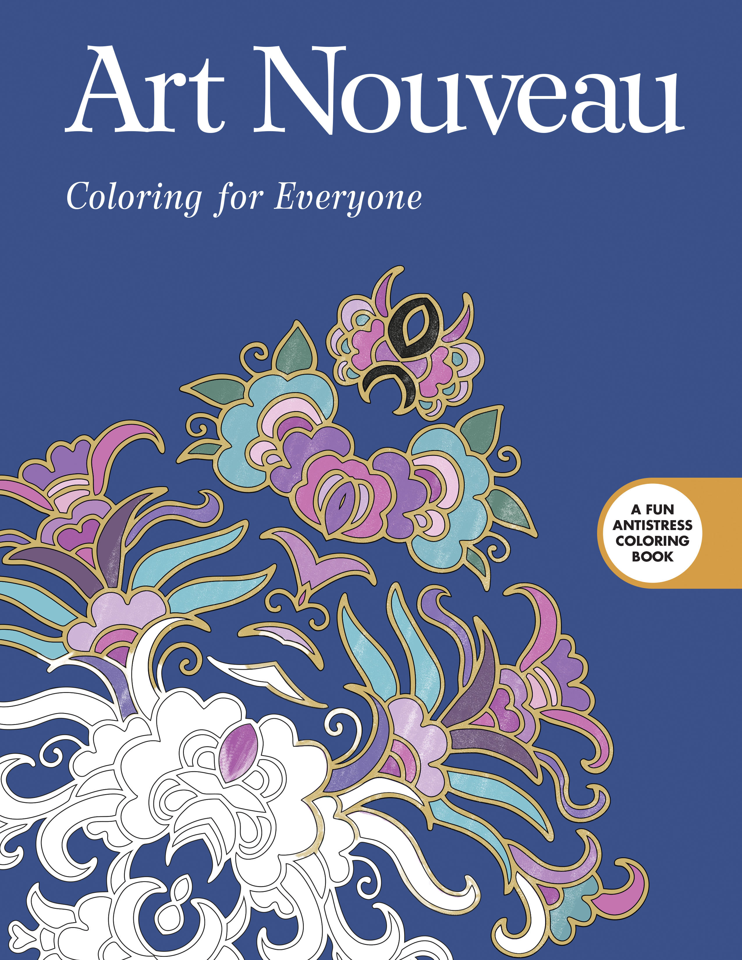 Art Nouveau: Coloring for Everyone | NewSouth Books