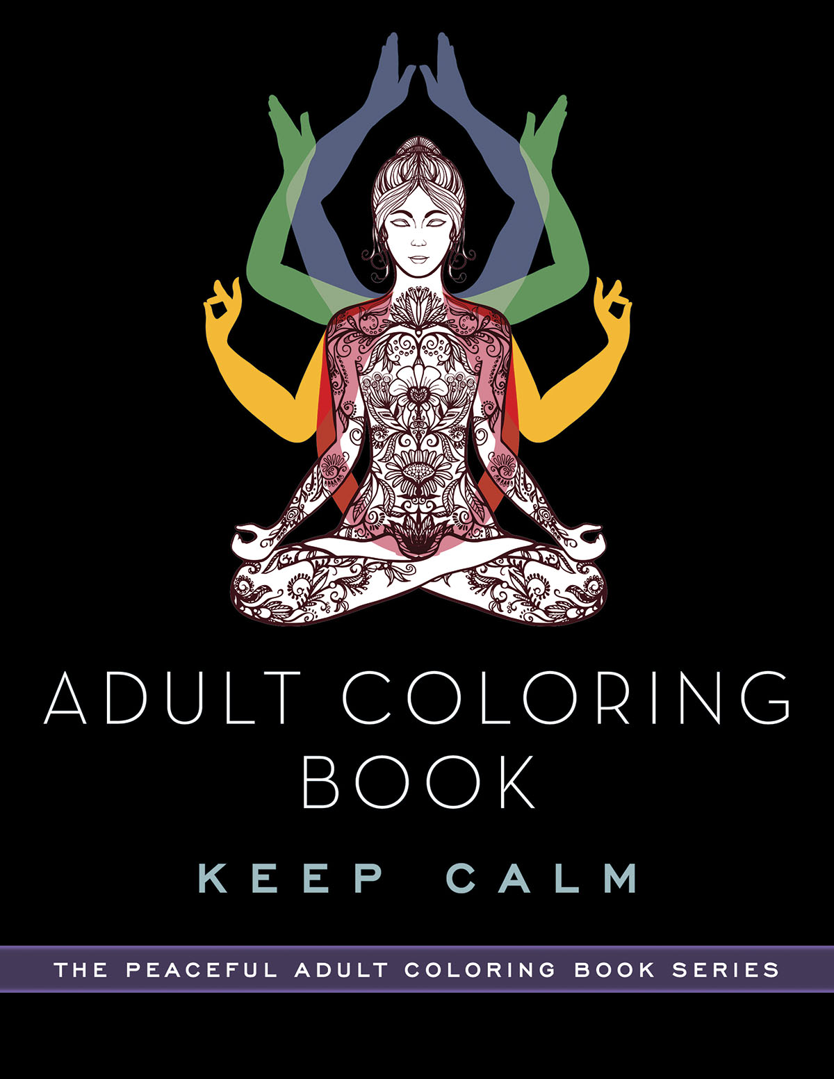 Now You Can Have Your Zen Moment In The Full Vibrancy Of Color Part Peaceful Adult Coloring Book Series This Is Overflowing