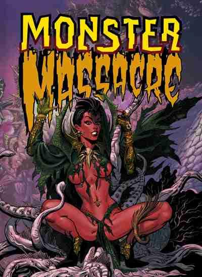 Monster Massacre comic anthology