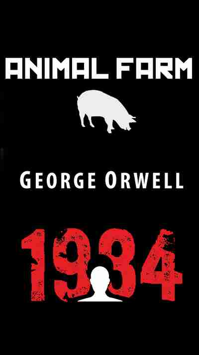 thesis statement on animal farm by george orwell Thesis statement there are many parallels between the russian revolution and ensuing communist takeover and the events in george orwell's novel animal farm it was a time when a totalitarian government came to power and thus a climate of fear existed.