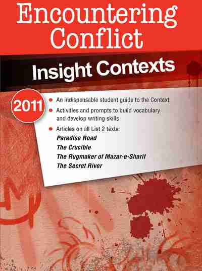 essay conflicts crucible