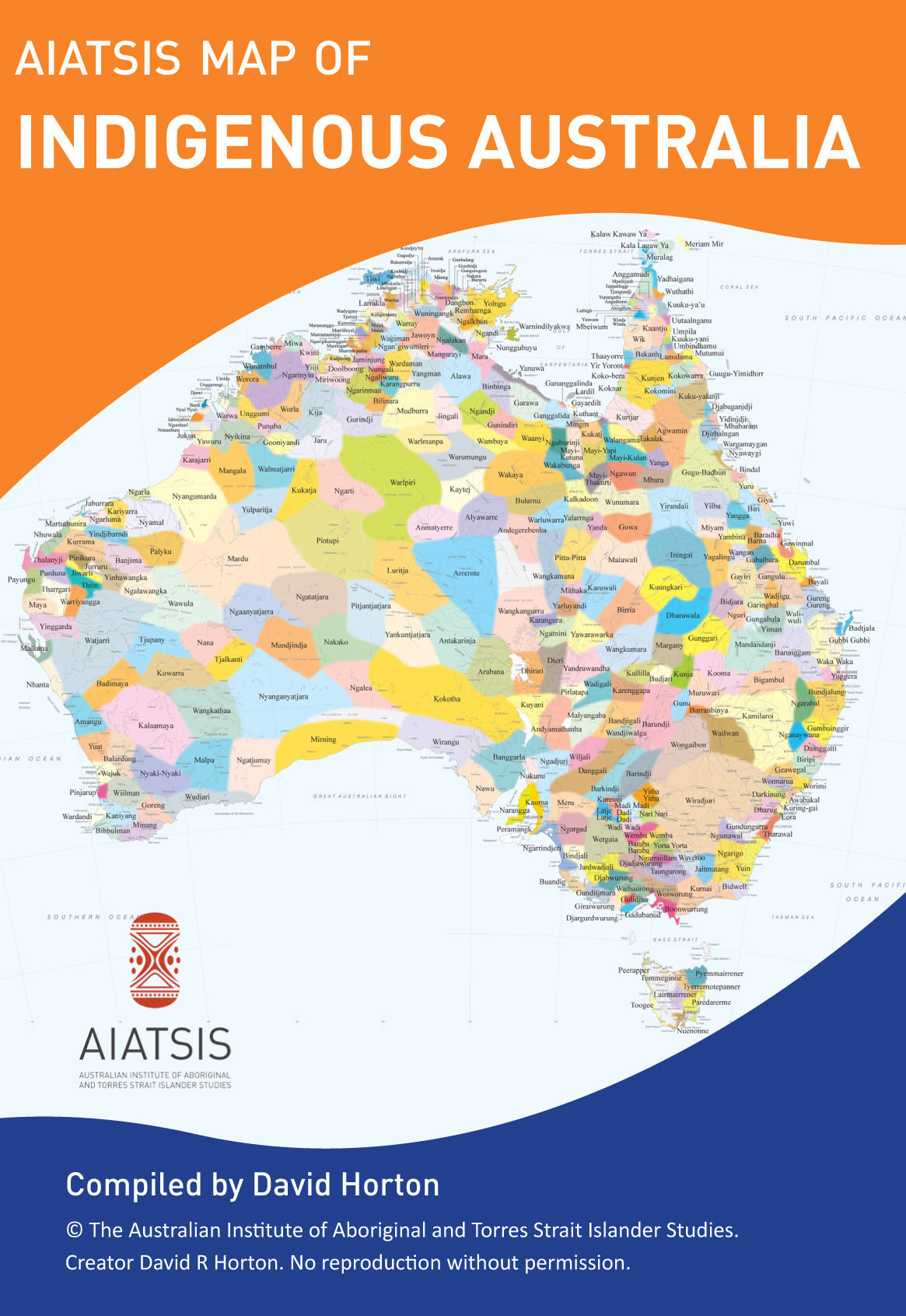 the highly popular aiatsis map of indigenous australia is now available in a compact portable a3 size perfect for anyone interested in the diversity of