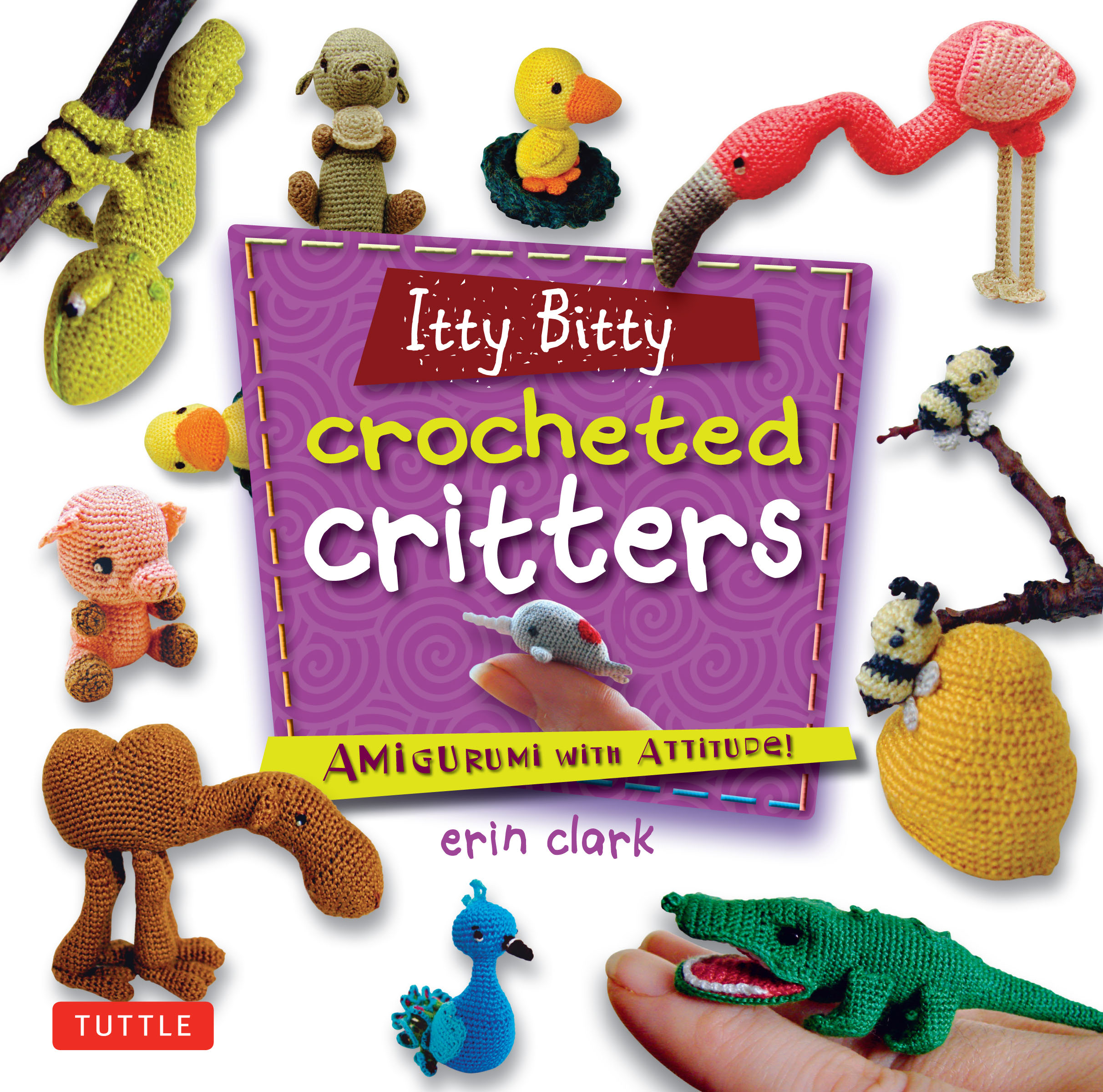 itty bitty crocheted critters newsouth books