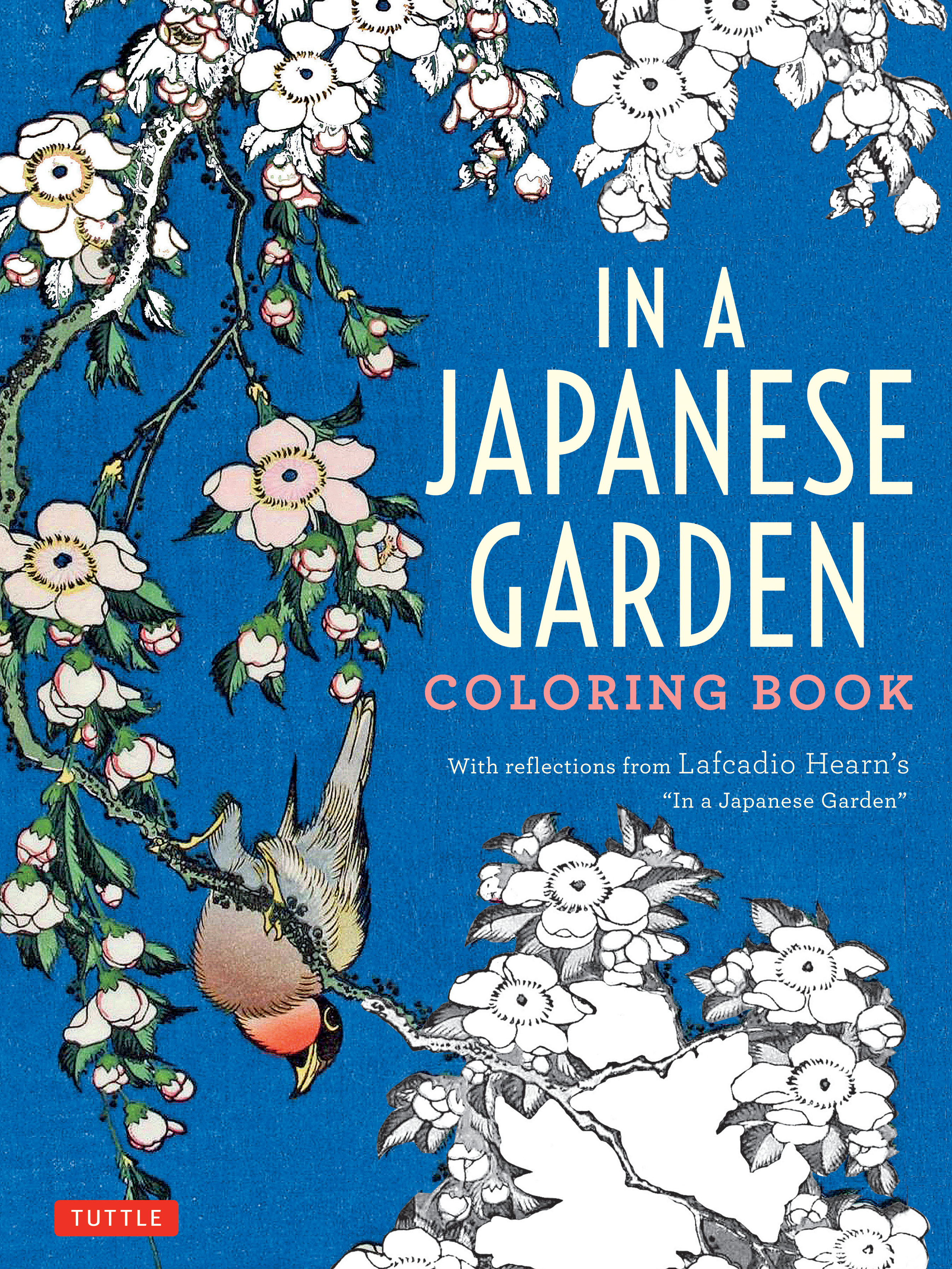 Featuring Elegant Designs In A Japanese Garden Coloring Book Is The Perfect Stress Reliever For Fans Of Classical Art And Literature
